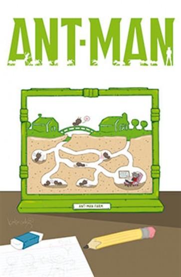 ANT-MAN 1 - VARIANT FX D'AUTORE