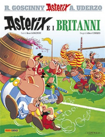 ASTERIX 8 - ASTERIX E I BRITANN