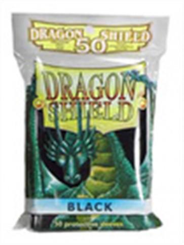 AT-10102 - 50 BUSTINE DRAGON SHIELD MINI - BLACK