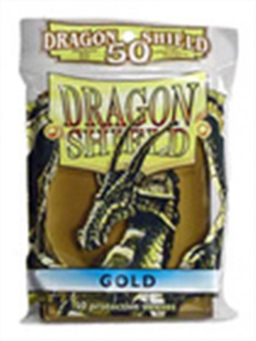 AT-10106 - 50 BUSTINE DRAGON SHIELD MINI - ORO