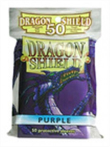 AT-10109 - 50 BUSTINE DRAGON SHIELD MINI - VIOLA