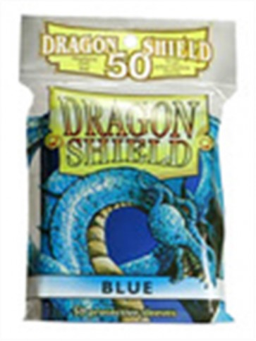 AT-10203 - 50 BUSTINE DRAGON SHIELD - BLU