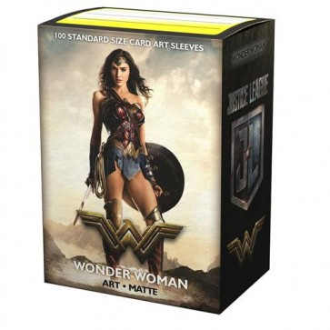 AT-16016 - 100 BUSTINE MATTE STANDARD - ART JUSTICE LEAGUE WONDER WOMAN