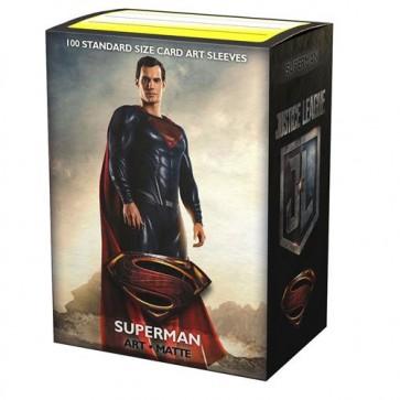 AT-16018 - 100 BUSTINE MATTE STANDARD - ART JUSTICE LEAGUE SUPERMAN