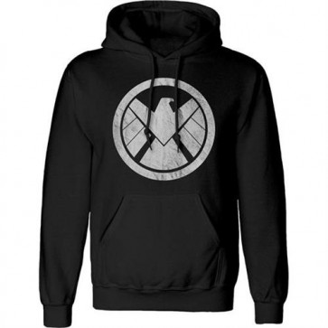 AVENGERS - PULLOVER HOODIE - DISTRESSED LOGO M