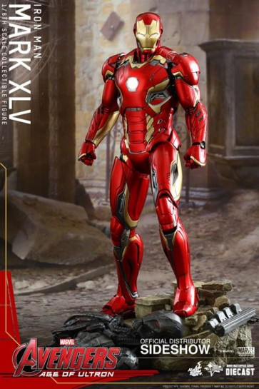AVENGERS AGE OF ULTRON - IRON MAN MARK 45 MMS DIECAST - HOT TOYS ACTION FIGURE