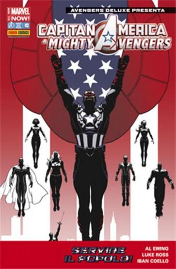 AVENGERS DELUXE PRESENTA 10 - CAPITAN AMERICA E MIGHTY AVENGERS 1
