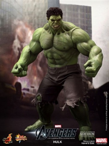 AVENGERS HULK ACTION FIGURE HOT TOYS 42 CM MMS 186