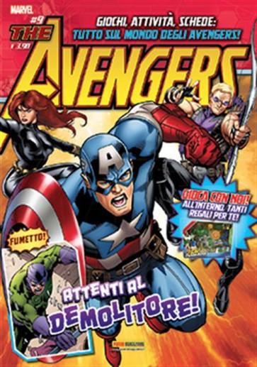 AVENGERS MAGAZINE 9