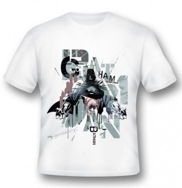 BATMAN03 - T-SHIRT BATMAN GOTHAM GUARDIAN L -2BNERD