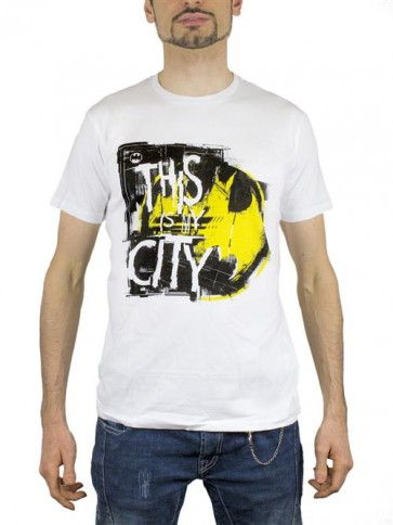 BATMAN19 - T-SHIRT THIS IS MY CITY L
