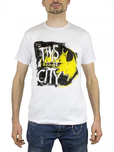 BATMAN19 - T-SHIRT THIS IS MY CITY M