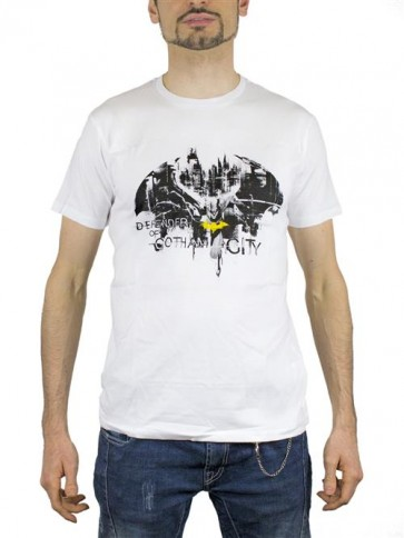 BATMAN22 - T-SHIRT DEFENDER OF GOTHAM CITY M