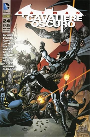 BATMAN - IL CAVALIERE OSCURO 24 (NEW 52)