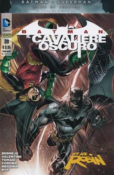 BATMAN - IL CAVALIERE OSCURO 39 (NEW 52)