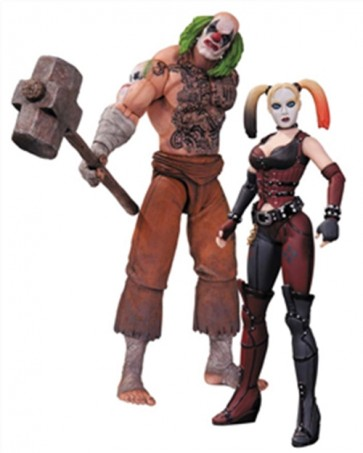 BATMAN ARKHAM CITY MR HAMMER H QUINN 2PK