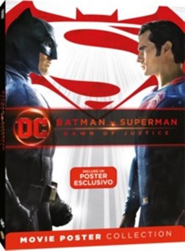 BATMAN V SUPERMAN: DAWN OF JUSTICE - MOVIE POSTER - DVD