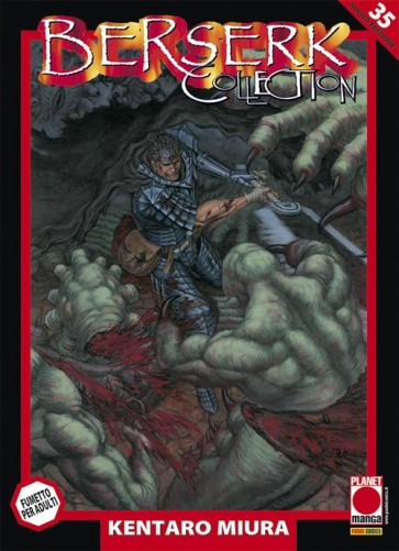 BERSERK COLLECTION SERIE NERA 35 - SECONDA RISTAMPA