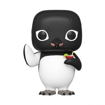 BILLY MADISON - POP FUNKO VINYL FIGURE 899 PENGUIN W/ COCKTAIL 9CM