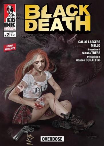 BLACK DEATH 2 RISTAMPA CON COVER VARIANT - OVERDOSE