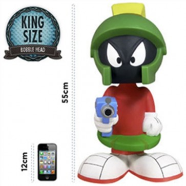 BOBFUN141 - LOONEY TOONS - BOOBLE HEAD KING SIZE (55CM) - MARVIN THE MARTIAN