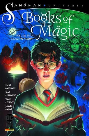 BOOKS OF MAGIC VOL.1 : CARATTERI MOBILI