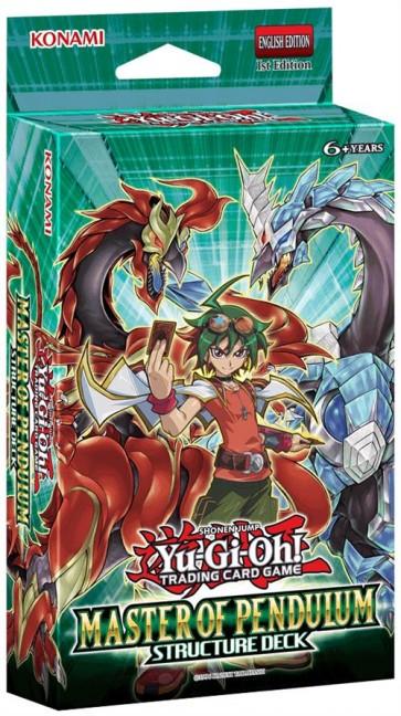 BOX YU-GI-OH! STRUCTURE DECK: MASTER OF PENDULUM (8 MAZZI)