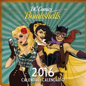 CALENDARIO 2016 - DC BOMBSHELLS (25X25)