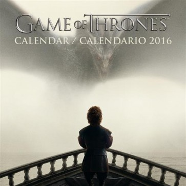 CALENDARIO 2016 - GAME OF THRONES (25X25)