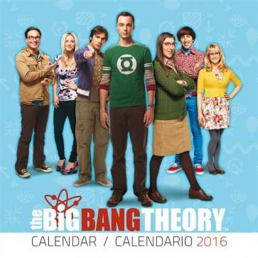 CALENDARIO 2016 - THE BIG BANG THEORY 1 (25X25)