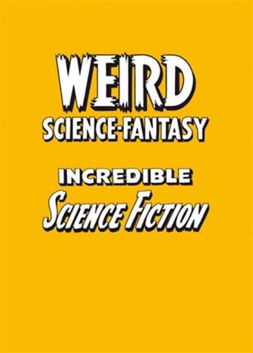 COFANETTO WEIRD SCIENCE FANTASY + INCREDIBLE