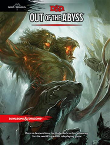 D&D 5.0 - DUNGEONS AND DRAGONS OUT OF THE ABYSS - ENG