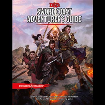 D&D 5.0 - DUNGEONS AND DRAGONS SWORD COAST ADVENTURER'S GUIDE - ENG