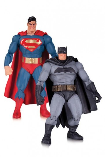 DARK KNIGHT RETURNS 30TH ANNIVERSARY - PACK BATMAN & SUPERMAN - DC DIRECT - ACTION FIGURE 17CM
