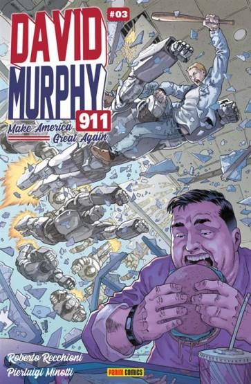 DAVID MURPHY 911 - SEASON TWO 3 - VARIANT COVER B