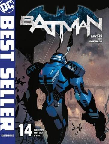 DC BEST SELLER - BATMAN DI SCOTT SNYDER & GREG CAPULLO 14
