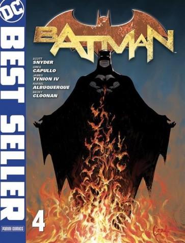 DC BEST SELLER - BATMAN DI SCOTT SNYDER & GREG CAPULLO 4 - PRIMA RISTAMPA