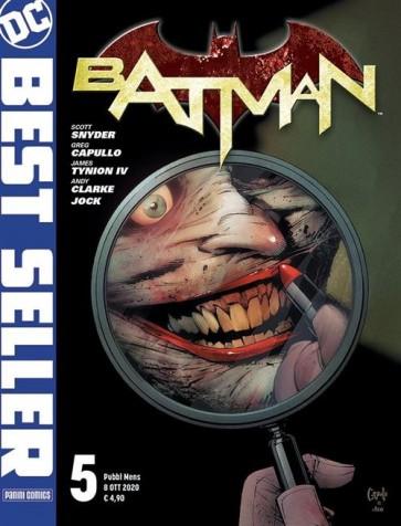 DC BEST SELLER - BATMAN DI SCOTT SNYDER & GREG CAPULLO 5 - PRIMA RISTAMPA