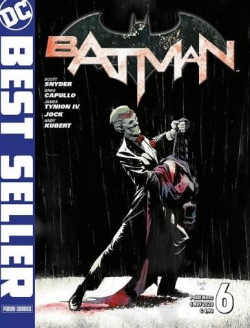 DC BEST SELLER - BATMAN DI SCOTT SNYDER & GREG CAPULLO 6 - PRIMA RISTAMPA