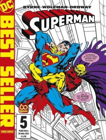 DC BEST SELLER NUOVA SERIE - SUPERMAN DI JOHN BYRNE 5