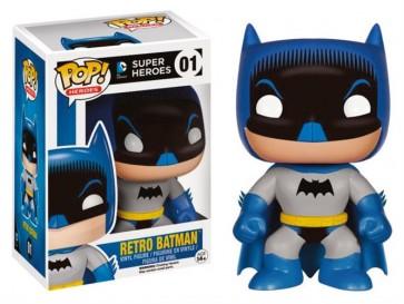 DC COMICS - POP FUNKO VINYL FIGURE 01 RETRO BATMAN 9CM