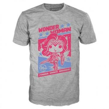DC COMICS - T-SHIRT POP - WONDER WOMAN PROPAGANDA - S