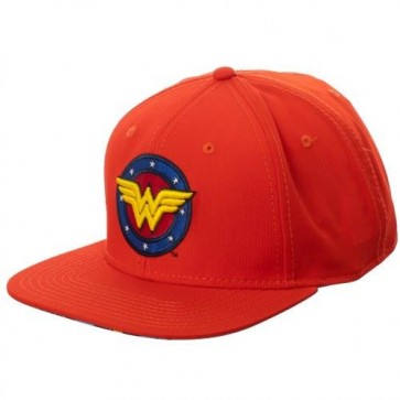DC COMICS - WONDER WOMAN - CAPPELLINO BRIGHT RED
