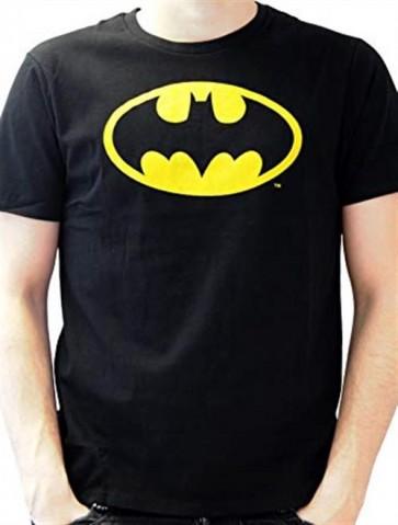 DC COMICS BATMAN - TS028 - T-SHIRT - BATMAN CLASSIC LOGO L