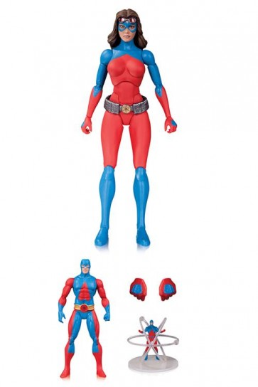 DC COMICS ICONS - ATOMICA DELUXE - DC DIRECT - ACTION FIGURE 15CM