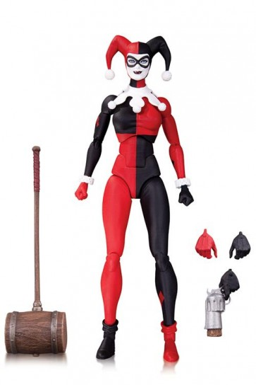 DC COMICS ICONS - HERLEY QUINN - DC DIRECT - ACTION FIGURE 15CM