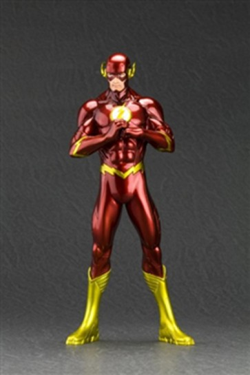 DC COMICS NEW 52 STATUA FLASH ARTFX KOTOBUKIYA
