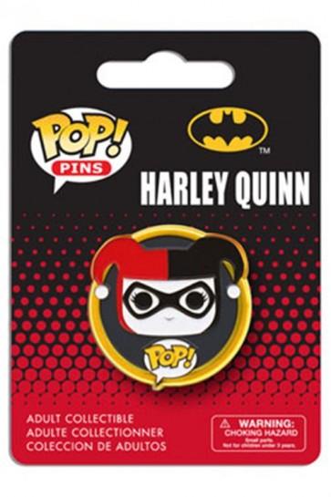 DC COMICS POP! PIN BADGE - HARLEY QUINN