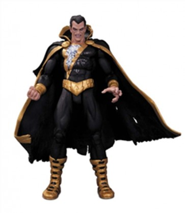 DC COMICS SUPER VILLAINS BLACK ADAM ACTION FIGURE 17 CM