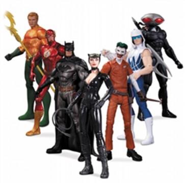 DC NEW 52 EROI E CATTIVI SUPER HEROES AND VILLAINS PACK 7 ACTION FIGURE